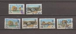 Fiscal Used Stamps 25p-100p 1983 & 25p-100p-200p-500p 1984 Revenue Lebanon, Liban - Liban