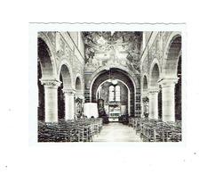 """HUISE - Binnenzicht Der Kerk - """"Ken Uw Land - Reeks 126-3"""" - 9 X 7 Cm. - Zingem"""