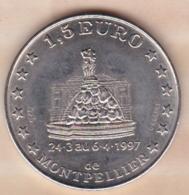 Hérault. 1,5 Euro De Montpellier 1997 Centenaire De Sup De Co - Euros Of The Cities