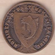 Jeton En Bronze Notaires Du Département De La Loire 1936 - France
