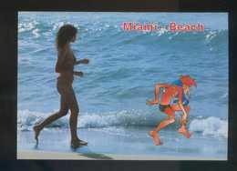 Ed. Astral Graphics. Imp. Fisa. Serie *Miami-Beach Nº 17-18. Lote 2 Diferentes. Nuevas - Humor