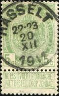 "COB   83 A  (o) Oblitération ""Hasselt ""T2R - 1893-1907 Armoiries"