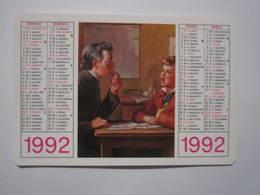 1992 PETIT CALENDRIER LUDOVICO PAVONI - Calendriers