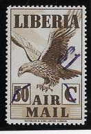 Liberia Poste Aérienne N°46- Oiseaux - Neuf * Avec Charnière - TB - Liberia