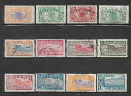 Timbre De Réunion  De 1922/26  N°84 A 96 (sauf N°95) Oblitérés - Réunion (1852-1975)