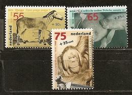 Pays-Bas Netherlands 1988 Zoo Animaux Animals Set Complete MNH ** - 1980-... (Beatrix)