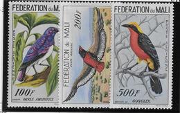 Mali Poste Aérienne N°2/4 - Oiseaux - Neuf * Avec Charnière - TB - Mali (1959-...)