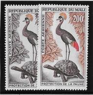 Mali Poste Aérienne N°19/20 - Oiseaux - Neuf ** Sans Charnière - TB - Mali (1959-...)