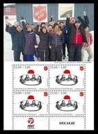 Groenland 2019    Salvation Army   Leger Des Heils  Special Sheetlet  Postfris/mnh/neuf - Groenland