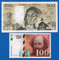 France  2  Billets - Non Classés