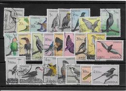 Angola N°328/351 - Oiseaux - Oblitérés - TB - Angola