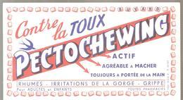 Buvard PECTOCHEWING Contre La Toux - Chemist's