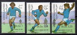 SOMALIE Timbres Neufs ** De 1982  ( Ref 5979 ) Sport - Football - Somalie (1960-...)