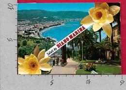 CARTOLINA VG ITALIA - Saluti Da DIANO MARINA (IM) - Vedutine Multivue - 10 X 15 - ANN. 1984 - Saluti Da.../ Gruss Aus...