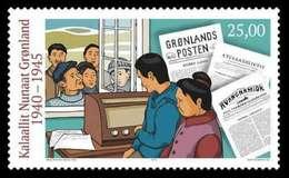 Groenland 2019  Greenland During WWII   Tweede Wereldoorlg   Set  2 Stamps   Postfris/mnh/neuf - Groenland