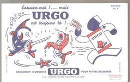 Buvard URGO Pansement D'urgence URGO Pour Petites Blessures Buvard N°4 Le Poisson Scie - Chemist's
