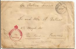 FIELD POST OFFICE - POW CENSOR FRONT COVER FROM TRIPOLI CONCENTRATION CAMP TO TEL AVIV. - Militaria