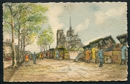 Paris - Notre-Dame Et Les Quais - Les Bouquinistes - Illustrateur Franck Will - Au Dos Pub. Au Bon Marché - Voir 2 Scans - Illustrateurs & Photographes
