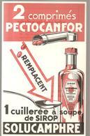 Buvard 2 Comprimés De PACTOCANFOR Remplacent 1 Cuillèrée à Soupe De Sirop SOLUCAMPHRE - Chemist's