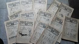 Lot 24 Journaux L'écolier Illustré 1907 De La Nézière Pinchon Jeux Contes Enfantina Bande Dessinée - Other