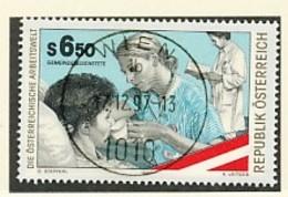 ÖSTERREICH Mi. Nr. 2233 Die österreichische Arbeitswelt - Gemeindebedienstete Bei Patientenpflege - Used - 1991-00 Usati