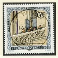 ÖSTERREICH Mi. Nr. 2237 Volksbrauchtum Und Volkskundliche Kostbarkeiten  - Used - 1945-.... 2. Republik