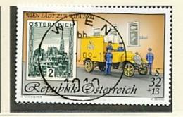 ÖSTERREICH Mi. Nr. 2270 Internationale Briefmarkenausstellung WIPA 2000, Wien - Used - 1945-.... 2nd Republic