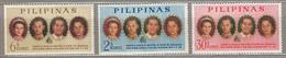 PHILIPPINES 1965 MNH (**) 777-779 #23801 - Philippines