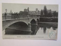 02 Aisne Soissons Le Pont Du Mail Construit En Ciment Armé - Soissons