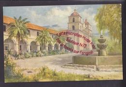 Q0643 - MISSION SANTA BARBARA From Oil Painting By F. B. Standish - CALIFORNIA CALIFORNIE USA - Santa Barbara