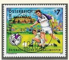 ÖSTERREICH Mi. Nr. 2337 Österreichischer Fußballmeister 2000: SV Wüstenrot Salzburg - Used - 2001-10 Gebraucht