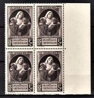 FRANCE 1940 - BLOC DE 4 TP / Y.T. N° 465 - NEUFS** - France