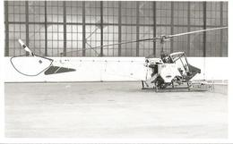 PHOTO HELICOPTER CONTINENTAL TOMCAT N9002 T  GOMES AS  1976 13X8CM - Helicopters