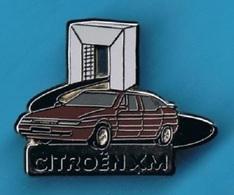 1 PIN'S //   ** CITROËN / XM ** . (Decat Paris) - Citroën