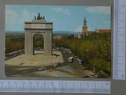 SPAIN - ARCO DEL TRINFO -  MADRID -   2 SCANS  - (Nº27308) - Madrid