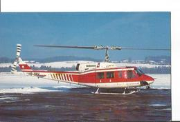 CP HELICOPTER BELL 214B 1 BIGLIFTER HB-XKH HELISWISS BERNE BELP 1992 - Helicopters