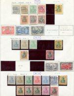 10882 ALLEMAGNE   Collection Vendue Par Page */°  1900-11   B/TB - Verzamelingen