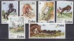 Cuba Nº 2288 Al 2293 - Nuevos