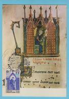 J.M. 22 - Carte Maximum Ou Carte Philatélique - Compositeur - N° 25 - A. DE LA HALLE - Musique