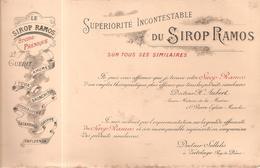 Buvard Supériorité Incontestable Du SIROP RAMOS Sur Tous Ses Similaires - Chemist's