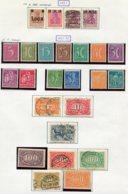 10885 ALLEMAGNE   Collection Vendue Par Page */°   Filigrane A   1921-22    TB - Verzamelingen