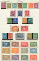 10886 ALLEMAGNE   Collection Vendue Par Page */°   Filigrane B   1921-22    TB - Verzamelingen
