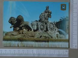 SPAIN - LA CIBELES -  MADRID -   2 SCANS  - (Nº27314) - Madrid