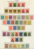 10889 ALLEMAGNE   Collection Vendue Par Page */°     1923    TB - Verzamelingen