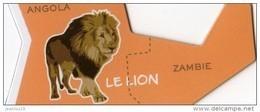 MAGNETS     PUBLICITEE    BROSSARD  SAVANE   ANIMAL D'AFRIQUE   LE LION - Animaux & Faune