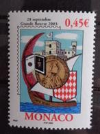 MONACO 2003 Y&T N° 2395 ** - GRANDE BOURSE 2003 - Unused Stamps