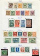 10890 ALLEMAGNE   Collection Vendue Par Page */°     1923-25    TB - Verzamelingen