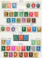 10891 ALLEMAGNE   Collection Vendue Par Page */°     1925-32  TB - Verzamelingen