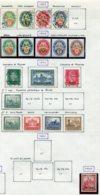 10892 ALLEMAGNE   Collection Vendue Par Page */°     1928-32  TB - Verzamelingen