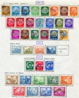 10893 ALLEMAGNE   Collection Vendue Par Page */°  Dont N° 470/8°   1932-33  TB - Verzamelingen